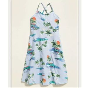 NWT Old Navy Girl's Fit And Flare Cami Dress